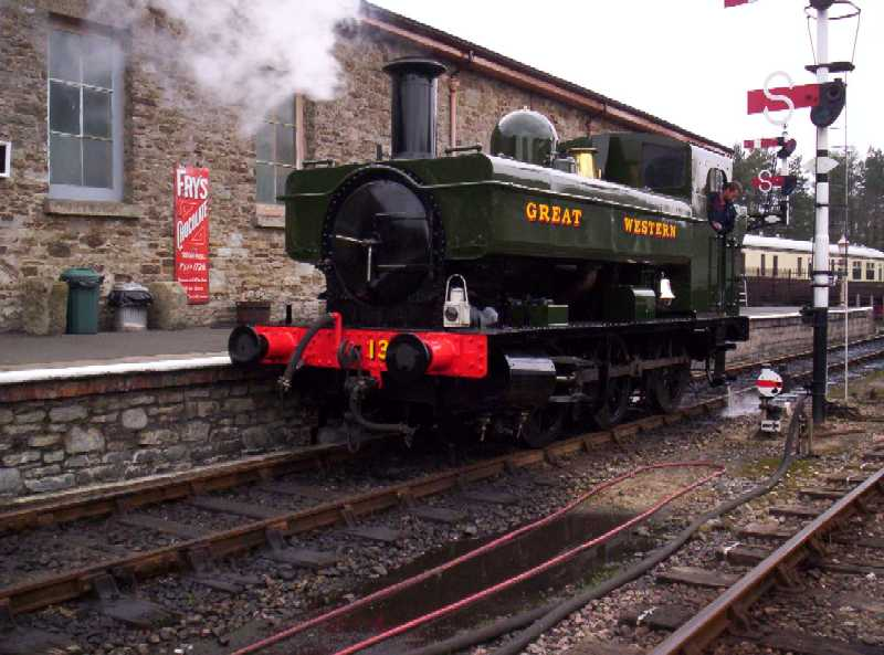 1369 in Buckfastleigh station loop