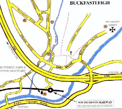 Buckfastleigh Local Map