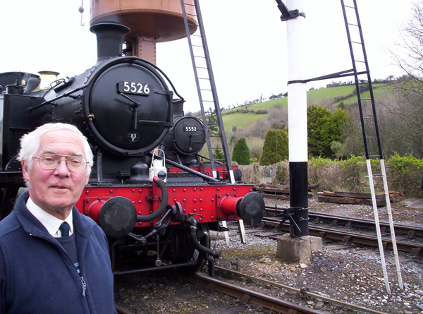 Richard Elliott with 5526 & 5552