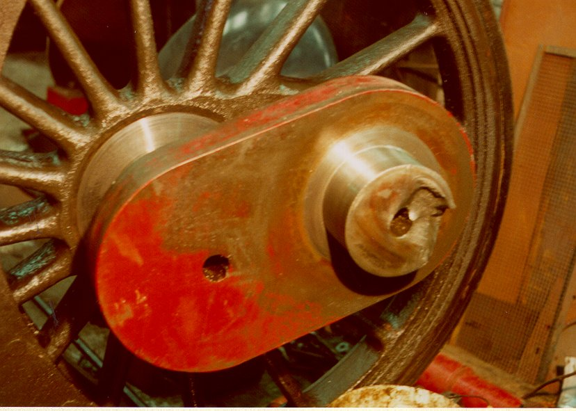 Axle broken in 1998