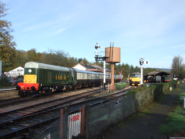 D8110 at Buckfastleigh