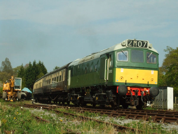 D7612 at Staverton
