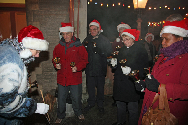 Carols Down the Line Campanologists at Buckfastleigh