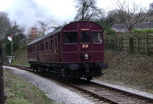 No 93 on shed at Buckfastleigh