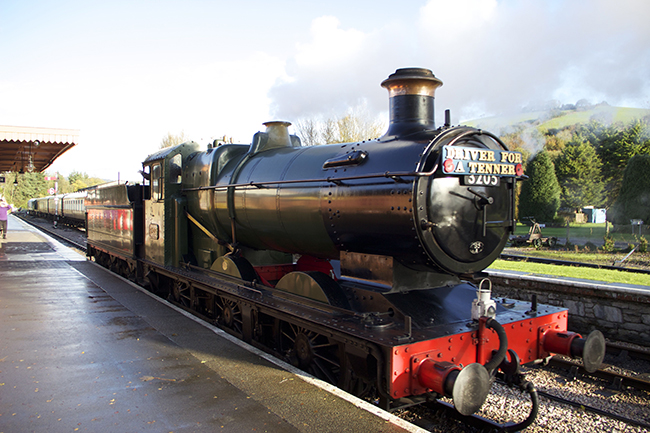 3205 at Buckfastleigh