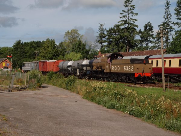ROD 5322 at Staverton