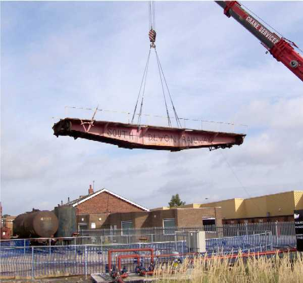 Turntable leaving Hull